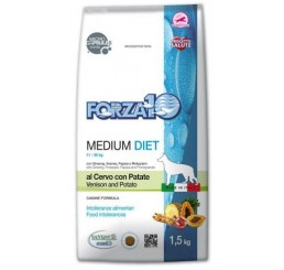 Forza10 Medium Diet Cervo con Patate kg 1.5