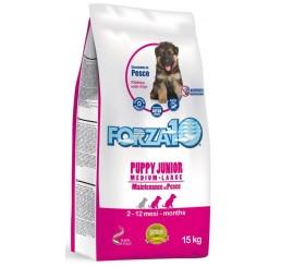 Forza10 Cane Puppy Junior M/L Medium / Large Pesce 12,5 Kg