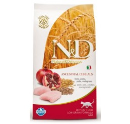 Farmina N&D Low Grain Gatto Adult Pollo & Melograno kg 1.5