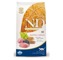 Farmina N&D Low Grain Gatto Adult Agnello e Mirtillo kg 1.5