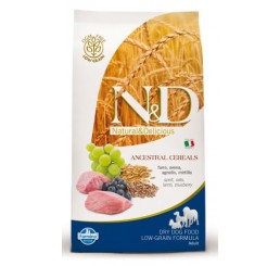 Farmina N&D Low Grain Adult Mini Agnello & Mirtillo Kg 2.5