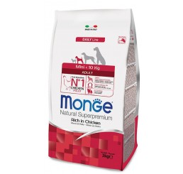 MONGE CANE ADULT MINI KG 3
