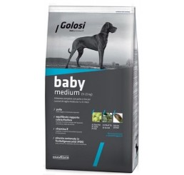 Golosi Cane Baby Medium Pollo Kg.12