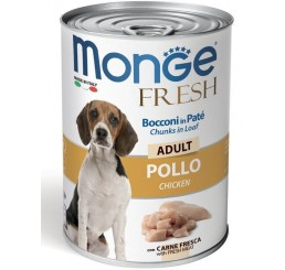 Monge Fresh Adulto Pollo gr 400