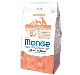 Monge Cane All Breed Puppy Salmone 12 kg