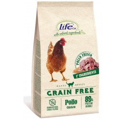 LifeCat Kg 1,5 Grain Free Pollo