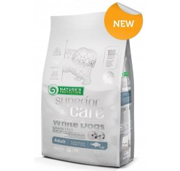 Nature's Protection Cane Kg 1.5 Grain Free Adult small Pesce Bianco