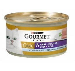 Gourmet Gold gr 85 Senior +7 Mousse Pesce dell' Oceano