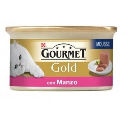 Gourmet Gold gr 85 Mousse con Manzo