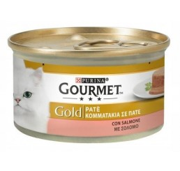 Gourmet Gold gr 85 Pate' con Salmone
