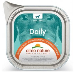 Almo Nature Daily Menu PFC per Cani gr 100 Con Vitello e Carote