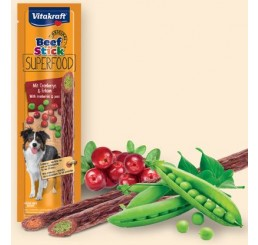 Vitakraft Snack Cane Beef Stick Superfood Piselli e Mirtilli 25 gr