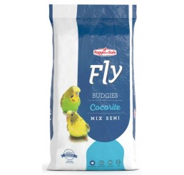 Fly Hobby Budgies Cocorite Mix di Semi Kg 1 - Alimento composto per cocorite