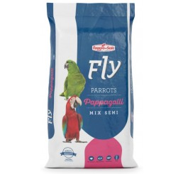 Fly Technical Pappagalli Parrots Fruit Mix Semi Kg 2,5 - Alimento completo per pappagalli
