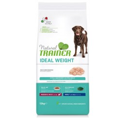 Trainer Natural Weight Care Medium Maxi Carni Bianche Kg 12