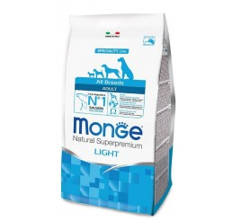 Monge Cane Adult All Breed Light Salmone e Riso 12 Kg