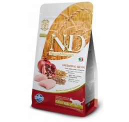 Farmina N&D Low Grain Gatto Neutered Pollo kg 1.5