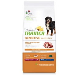 Trainer Natural Sensitive No Gluten Adult Medio / Medium Maxi Kg 12 Anatra