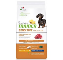 Trainer Natural Sensitive No Gluten Adult Small Toy / Mini Kg 2 Agnello