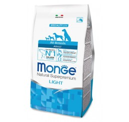 Monge Cane All Breed Light 2,5 Kg Salmone, riso