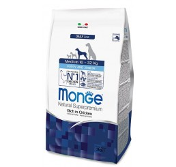 MONGE CANE PUPPY JUNIOR MEDIUM KG 3