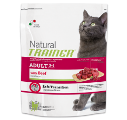 Trainer Natural Gatto Adult Con Manzo Kg 1.5