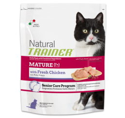 Trainer Natural Gatto Mature Con Pollo Fresco Kg 1.5