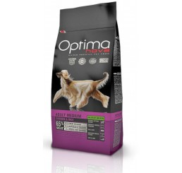 Optima Nova Cane Adulto Medio Pollo e Riso 12 kg