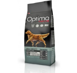 Optima Nova Cane Adulto Obesity Pollo Riso 12 Kg