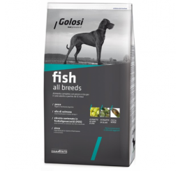 Golosi Cane Pesce All Breeds  Kg. 3
