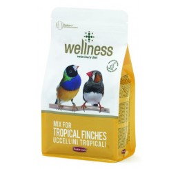 Padovan Wellness Tropical Finches kg 1 (alimento per uccelli esotici)