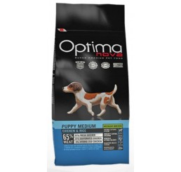 Optima Nova Puppy Medio Pollo e Riso 2 kg