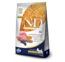 Farmina N&D Natural & Delicious Ancestral Low Grain Adult Mini Agnello 7 Kg