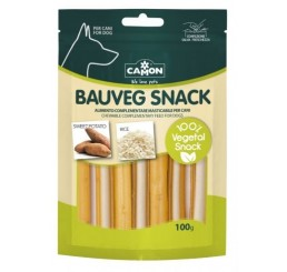 Camon Bauveg Vegetal Snack Dental Stick con Riso e soia 100 gr