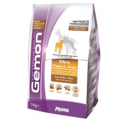 Gemon Cane Mini Puppy Junior Kg 3 Pollo Riso