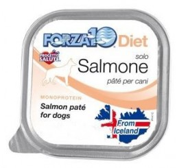 Forza10 Cane Solo Diet pate' Salmone Gr 100