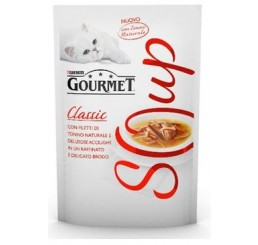 Gourmet Soup Filetti Tonno Naturale e Acciughe Gr 40