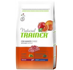 Trainer Natural Adult Medium Manzo 3 Kg