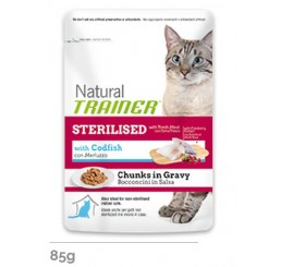 Trainer Natural Busta gr. 85 Sterilised al Merluzzo