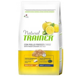 Trainer Natural Cane Small & Toy Pollo Riso 800 gr