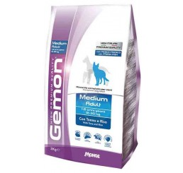 Gemon Cane Medium Adult Kg 3 Tonno Riso