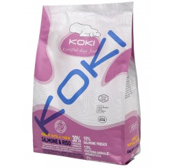 Koki Cane Adult All Breed - Salmone e Riso 2,5 kg